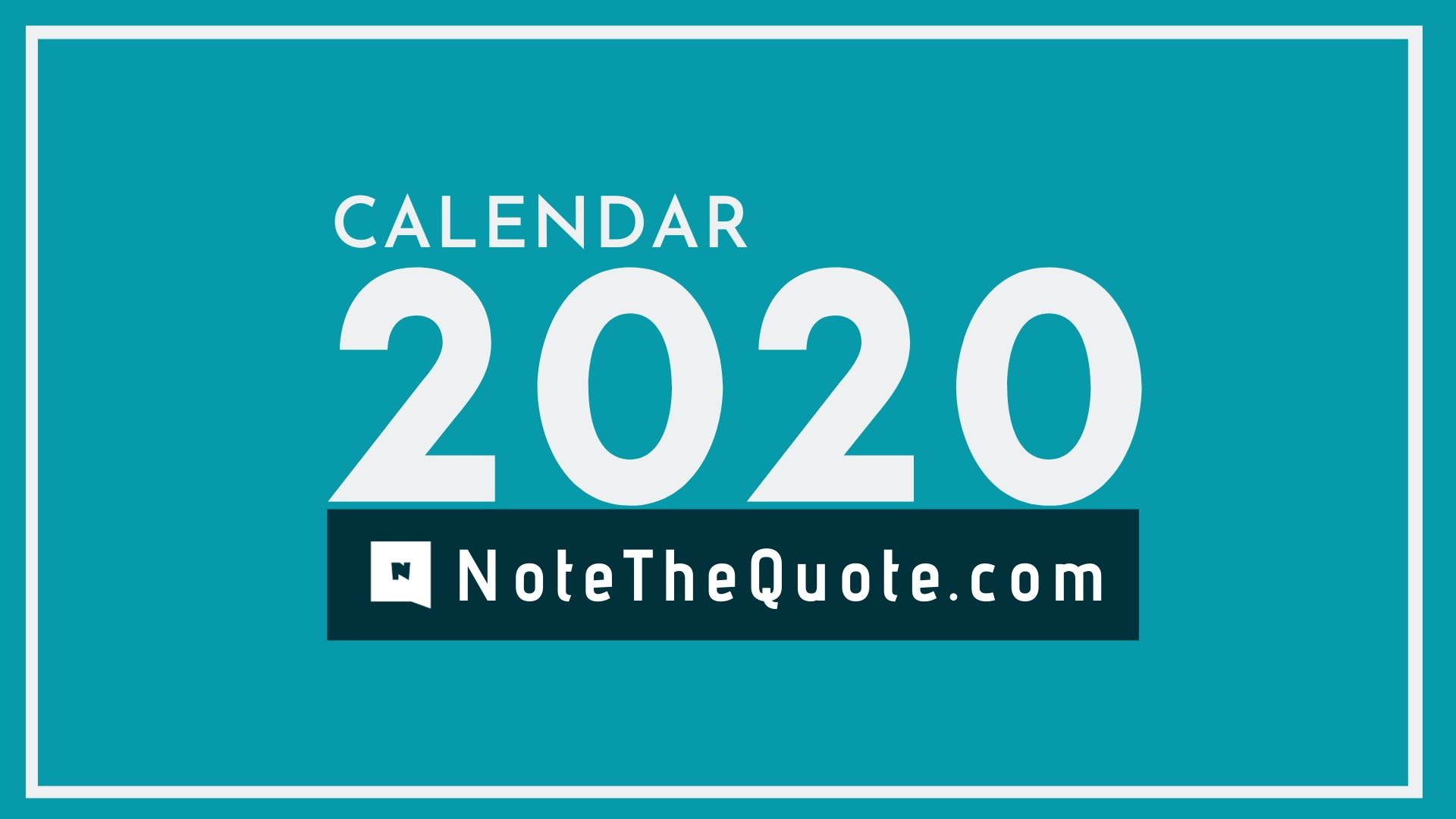 NoteTheQuote.com-Calendar-2020-banner-image