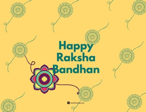 happy quotes on raksha bandhan in english