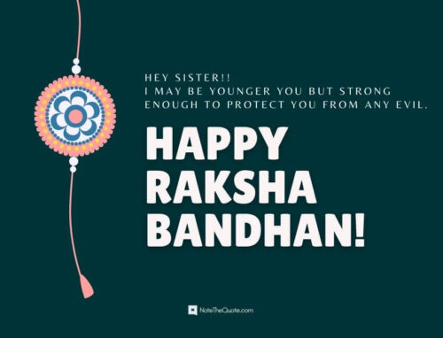 Short quotes on raksha bandhan