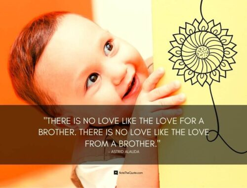 happy raksha bandhan quotes for little brother